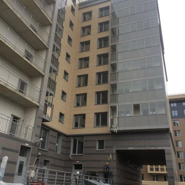 ЖК 24-29, ход строительства, стройка сентябрь 2016